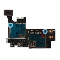 Sim SD tray connector for Samsung Galaxy Note 2 N7100 T889 i317