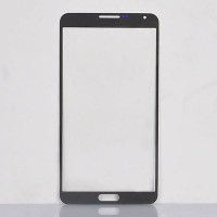LCD lens Front glass for Samsung Note 3 N9000 N9005 Grey
