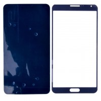 LCD lens Front glass for Samsung Note 3 N9000 N9005 Blue