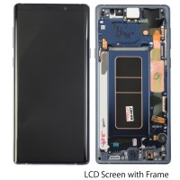 lcd assembly with frame for Samsung note 9 N9600 N960 N90F