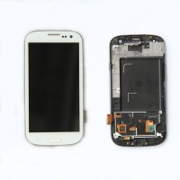 Lcd digitizer assembly with frame for Samsung S3 i747 T999