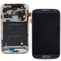 LCD digitizer with frame for Samsung S4  M919 i337