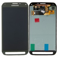 LCD digitizer assembly for Samsung S5 Active G870 G870a Grey
