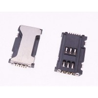 Sim connector for Samsung Galaxy Ace 2 X S7560m S7562
