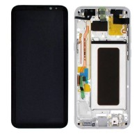 lcd digitizer with frame Samsung S8 Plus S8+ G9550 G955F Silver