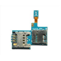 Sim tray SD connector for Samsung Galaxy S 2 T989