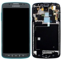 LCD digitizer with frame for Samsung S4 Active i537 Grey