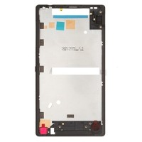 Mid housing BLACK for Sony Ericsson L35h Xperia ZL C6502