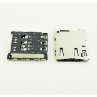 Sim connector for Sony ericsson Xperia M4 E2303 E2353