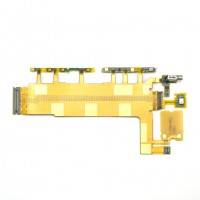 Power volume buttons flex for Xperia Z3 L55T D6603 D6643 D6653