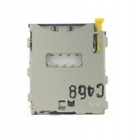Sim connector for Xperia Z3 L55T D6603 D6643 D6653