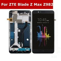 LCD digitizer assembly with frame for ZTE Blade Z max Z982