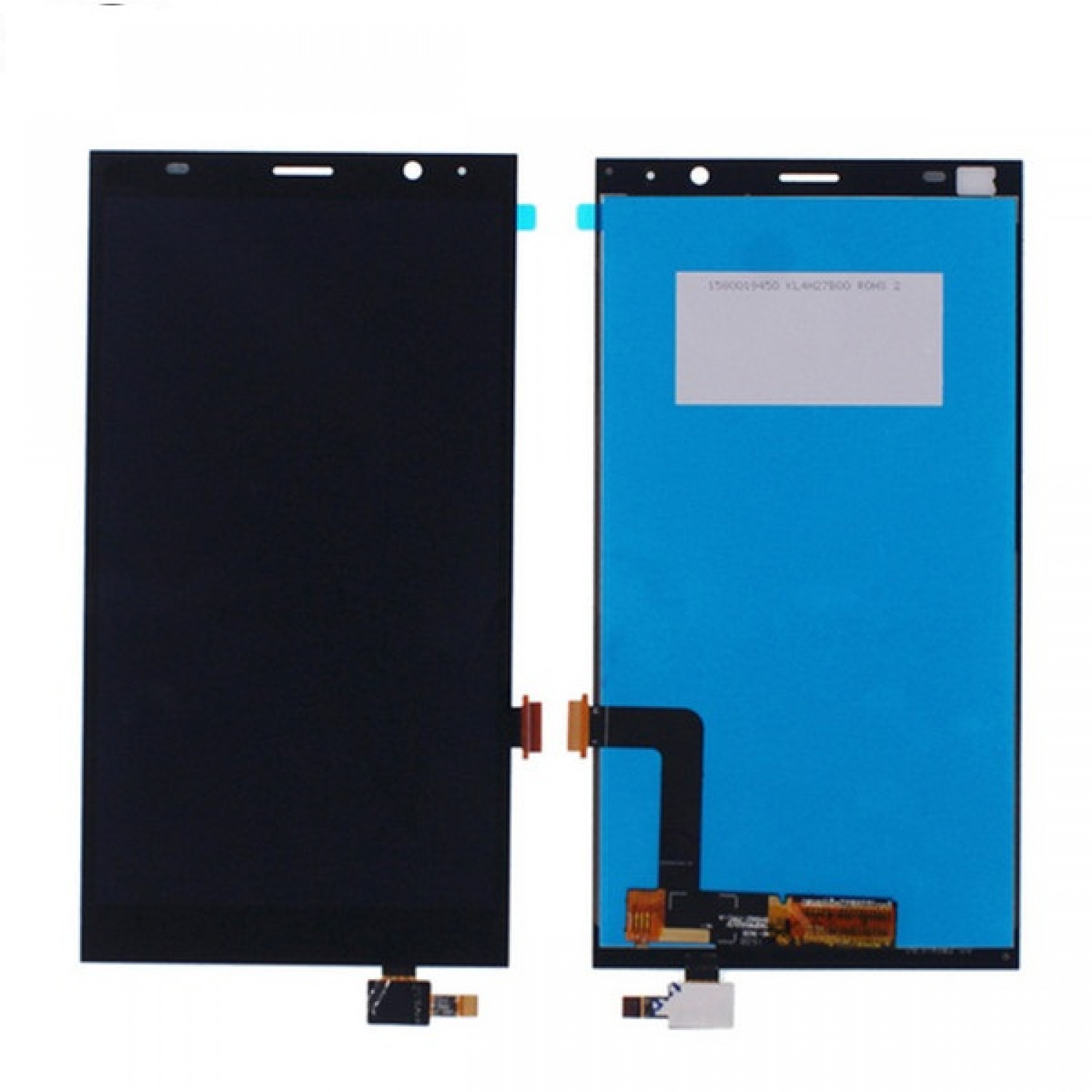 LCD digitizer assembly with frame for ZTE Grand X Max Z987