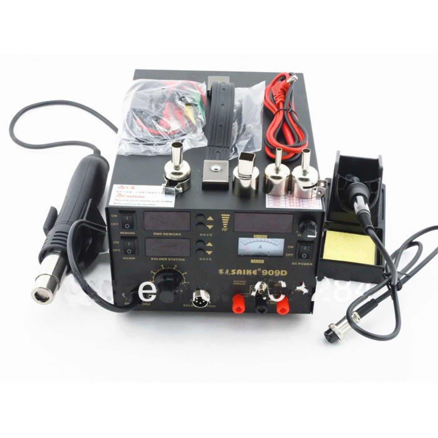 3 in 1 rework station hot air gun soldering station