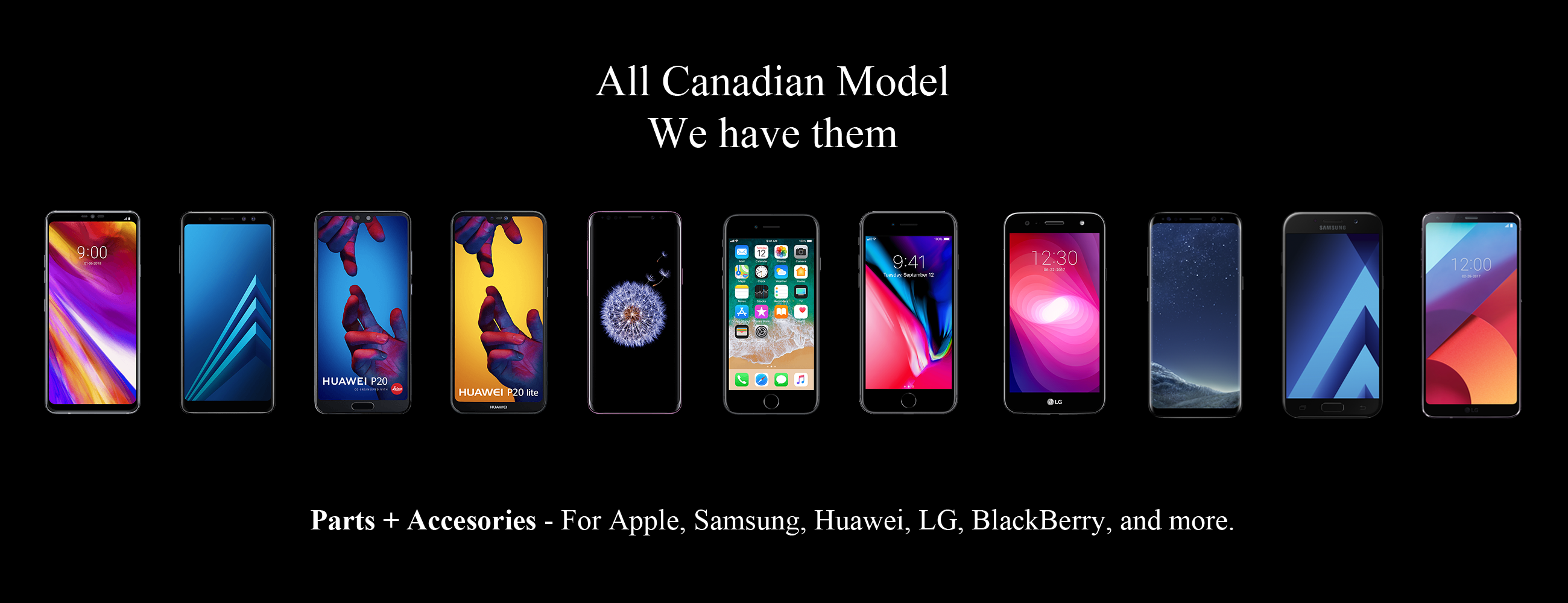 All Phone Models